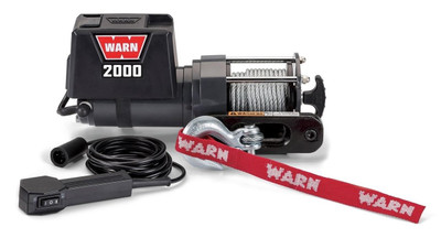 WARN Industries 2000 DC 12V Electric Winch 208146