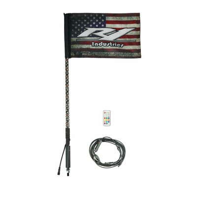 R1 Industries Remote Controlled Wildcat Extreme LED Gen 4 Light Whip 3ft Single R1-WC3FTS