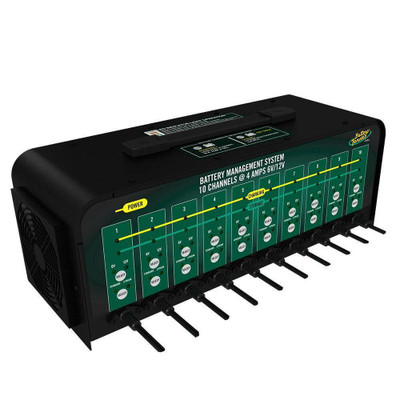 Battery Tender Selectable Battery Charger 10-Bank 021-0134-DL-WH