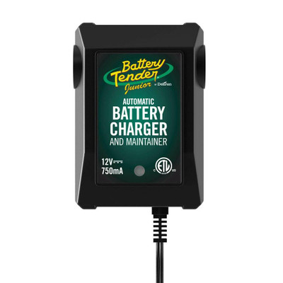 Battery Tender Junior 12V, 750mA Battery Charger 021-0123