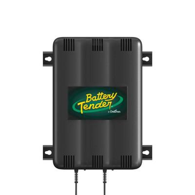 Battery Tender 12V, 1.25 Amp Battery Charger 2-Bank 022-0165-DL-WH