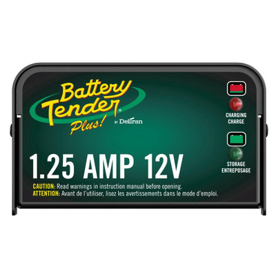 Battery Tender Plus 12V, 1.25 Amp Battery Charger 021-0128