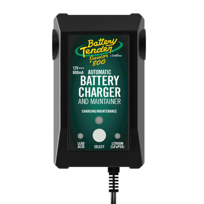 Battery Tender 12V 800mA Selectable Battery Charger 022-0199-DL-WH