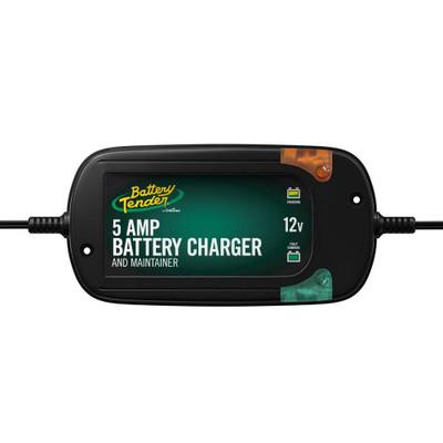 Battery Tender 12V, 5 Amp Battery Charger 022-0186G-DL-WH