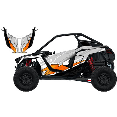 UTV Source Polaris RZR Pro XP Wrap Kit or Ether Orange RZRPROXPK2D-8