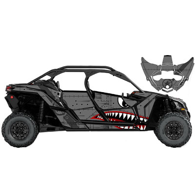 UTV Source Can-Am Maverick X3 MAX Wrap Kit or Bomber X3MAXK4D-2