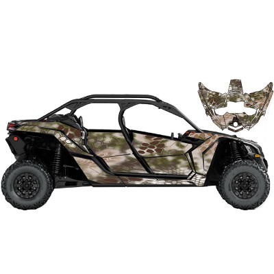 UTV Source Can-Am Maverick X3 MAX Wrap Kit or Mamba Camo X3MAXK4D-4