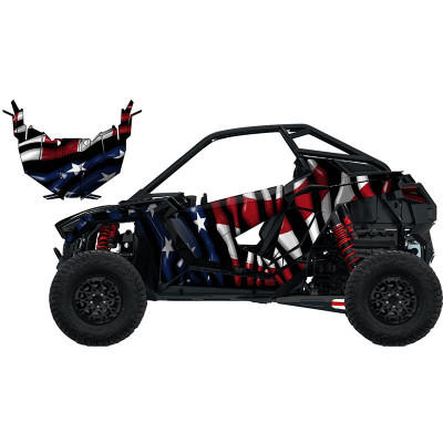 UTV Source Polaris RZR Pro XP Wrap Kit or Drip RZRPROXPK2D-6