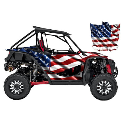 UTV Source Honda Talon Wrap Kit or USA TALON1000K2D-1