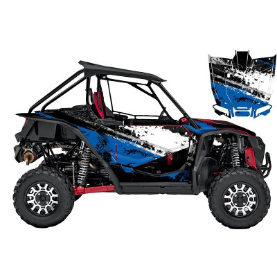 UTV Source Honda Talon Wrap Kit or Splatter Blue TALON1000K2D-8