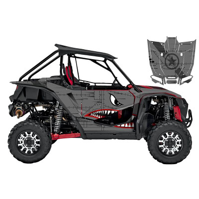 UTV Source Honda Talon Wrap Kit or Bomber TALON1000K2D-5