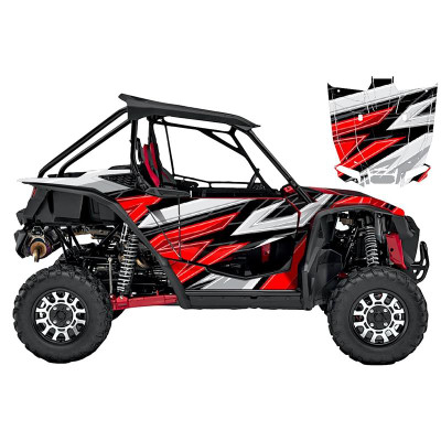 UTV Source Honda Talon Wrap Kit or Vision Red TALON1000K2D-3
