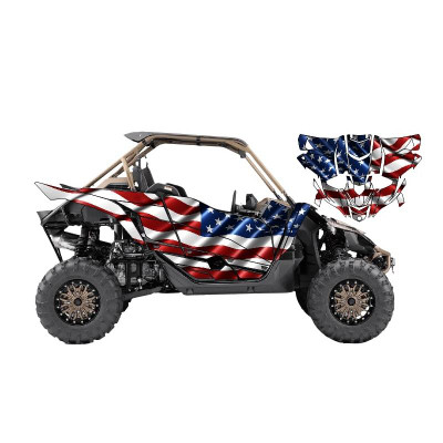 UTV Source Yamaha YXZ 1000 Wrap Kit or USA YXZ1000K2D-2