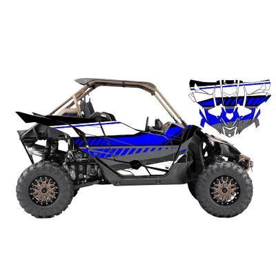 UTV Source Yamaha YXZ 1000 Wrap Kit | Tracer (Blue) (YXZ1000K2D-8)