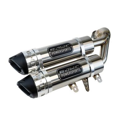 RJWC Krossflow General 1000 / RZR 1000S Dual Slip-On Exhaust 1293KF