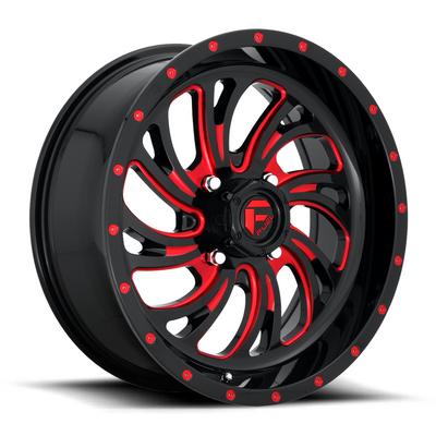 EFX Tires D641 Kompressor UTV Wheel (20X7) (4X137) (Candy Red) (D6422070A644)