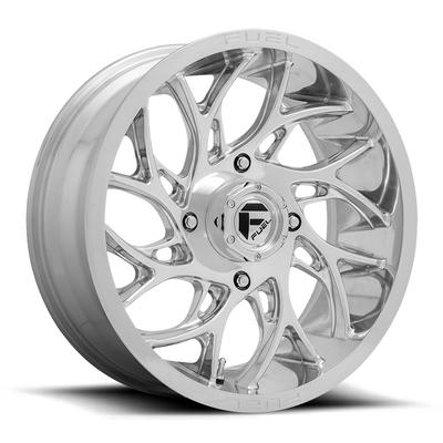 Fuel Offroad RUNNER UTV Wheel 18X7 4X156 Polished D2041870A544