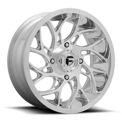 Fuel Offroad RUNNER UTV Wheel 18X7 4X136 Polished D2041870A644