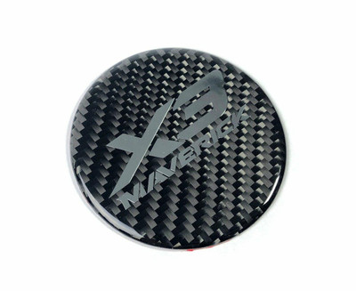 FourWerx Carbon Can-Am Maverick X3 Carbon Fiber Hood Badge FWC-X3-Carbon-Badge