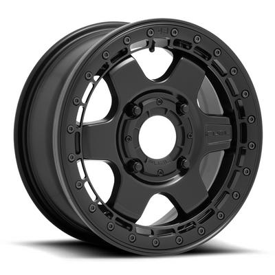 Fuel Offroad D922 Block Beadlock UTV Wheel (15X6) (4X137) (Matte Black) (D9221560A650)