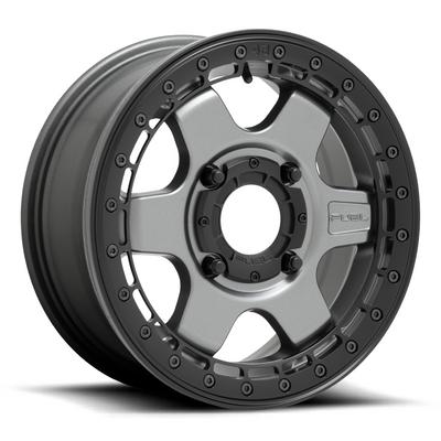 Fuel Offroad D923 Block Beadlock UTV Wheel (15X6) (4X156) (Matte Anthracite) (D9231560A550)