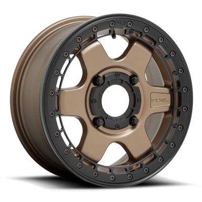 Fuel Offroad D922 Block Beadlock UTV Wheel 15X6 4X156 Matte Bronze