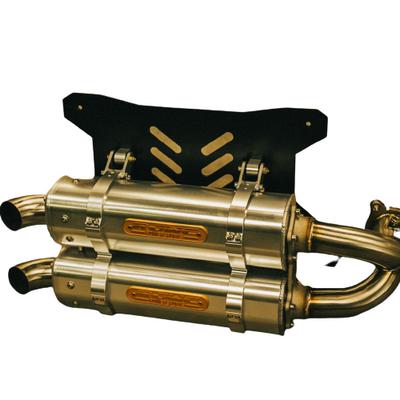 RJWC Polaris RZR Pro XP Exhaust, APX/AL Dual 1107004