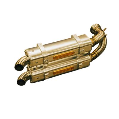 RJWC Can-Am Maverick X3 Exhaust, APX/AL Dual 1006004