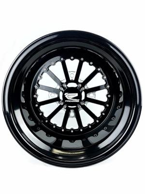 Packard Performance Nova UTV Wheel Set 15x7 and 15x11 4x137 Gloss Black PP-NOVA-711-SET-137