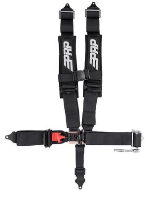 PRP Seats Ratcheting Harness SFI 16.5 Black SB5.3PR
