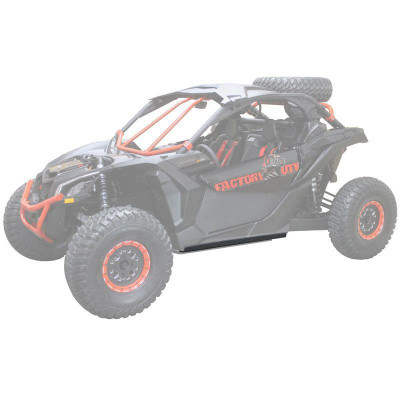 Factory UTV Can-Am Maverick X3 UHMW Rock Sliders MX3SLDR-38