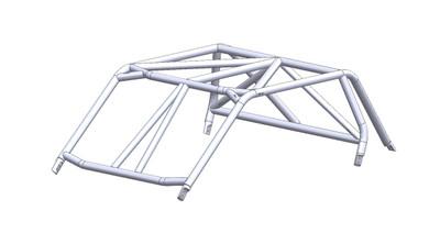 LSK Suspension Polaris RZR XP1000 UTV Cage Kit Flat2-Seat LSK1200F
