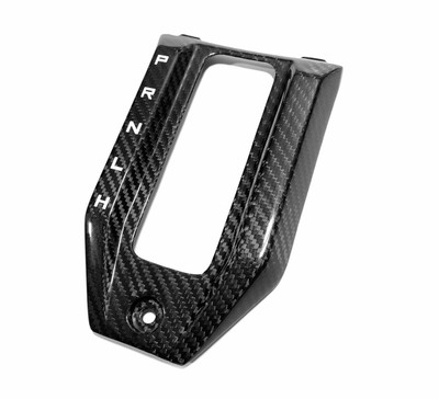FourWerx Carbon Polaris RZR Pro XP Carbon Fiber Shifter Surround FWC-RZR-SS