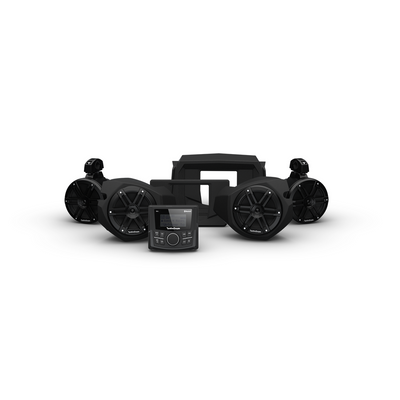 Rockford Fosgate Polaris RZR Audio Kit (PMX-1) (Stage 2)