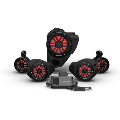 Rockford Fosgate Polaris RZR Audio Kit (Ride Command) (Stage 4)
