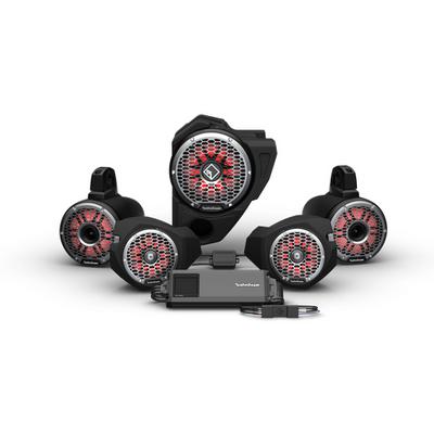 Rockford Fosgate Polaris RZR Audio Kit (Ride Command) (Stage 6)