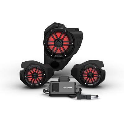 Rockford Fosgate Polaris RZR Audio Kit (Ride Command) (Stage 3)