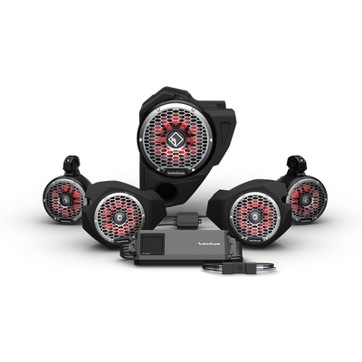 Rockford Fosgate Polaris RZR Audio Kit (Ride Command) (Stage 5)