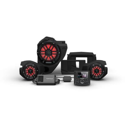 Rockford Fosgate Polaris RZR Audio Kit (PMX-2) (Stage 3)