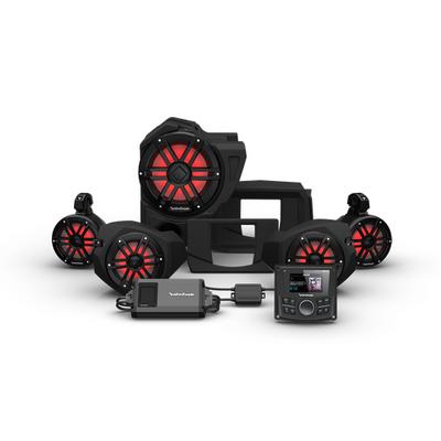 Rockford Fosgate Polaris RZR Audio Kit (PMX-2) (Stage 4)