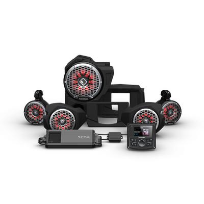 Rockford Fosgate Polaris RZR Audio Kit (PMX-3) (Stage 5)