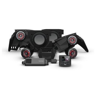 Rockford Fosgate Can-Am Maverick X3 Audio Kit PMX-3 Stage 5 X317-STG5