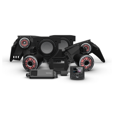Rockford Fosgate Can-Am Maverick X3 Audio Kit PMX-3 Stage 6 X317-STG6