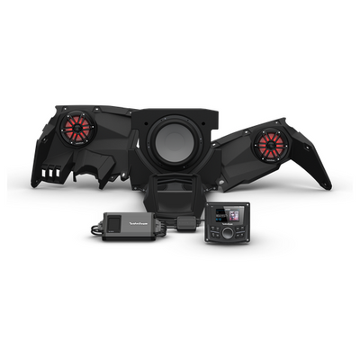 Rockford Fosgate Can-Am Maverick X3 Audio Kit PMX-3 Stage 3 X317-STG3