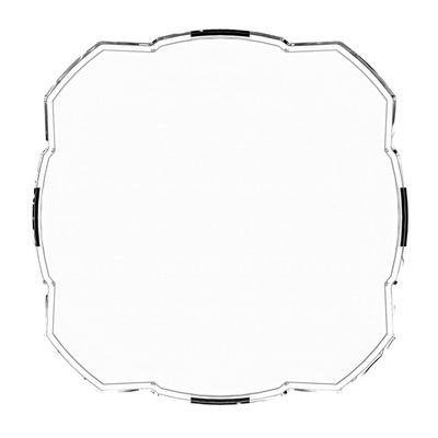 KC HiLiTES FLEX ERA 3 Light Shield Hard Cover Clear 5326