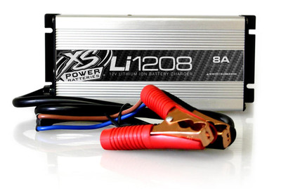 XS Power Batteries Lithium Battery Charger 12V-8A LI1208