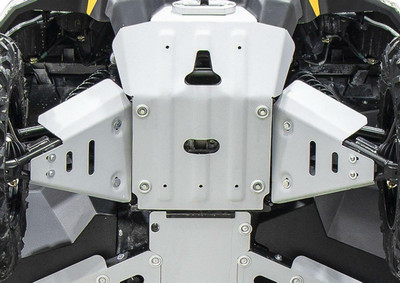 Rival Powersports Can Am Defender HD5 / HD8 / HD10 Alloy Front A Arm Guards Standard 24.7280.1-2