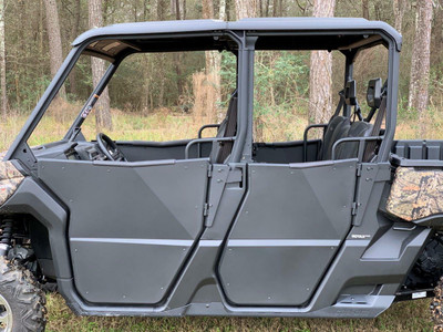 Rival Powersports Can Am Defender HD5 / HD8 / HD10 Max Rear Half Doors 2444.7276.1