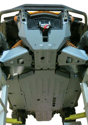 Rival Powersports Can-Am Commander 800 / 1000 Alloy Full Skid Plate Kit 2444.7219.1