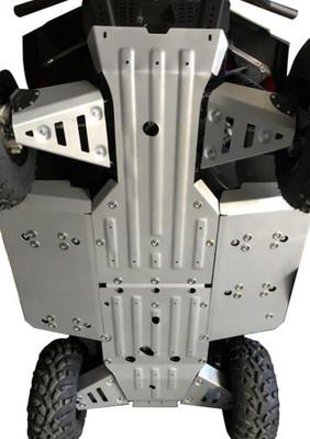 Rival Powersports Polaris Ranger 500 / 570 Mid Size Alloy Full Skidplate Kit 2444.7440.1